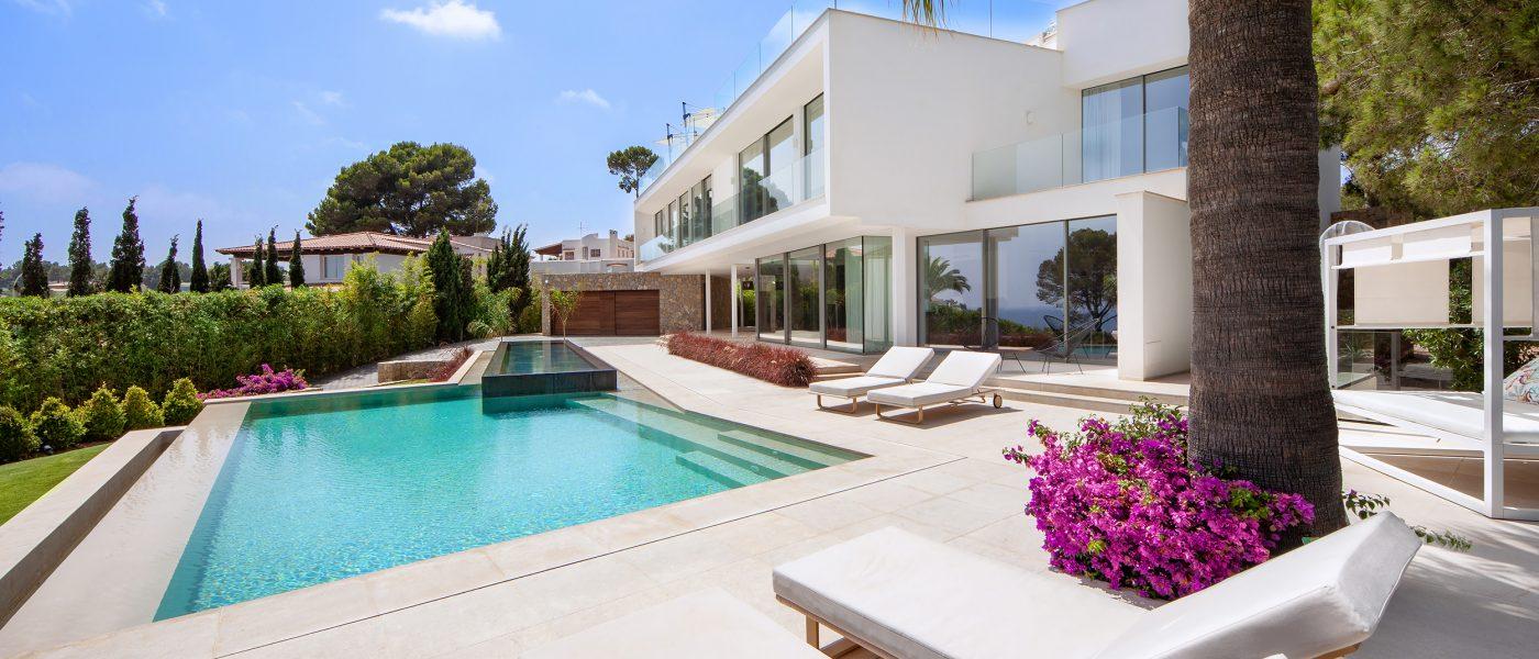 Moderne Villa mit Meerblick in Sol de Mallorca - Mallorca Agent